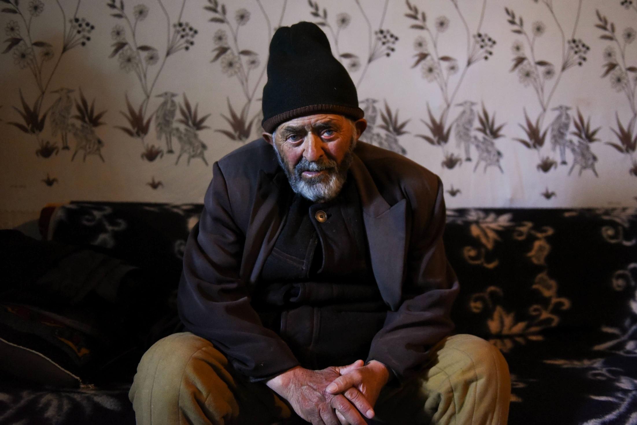 Chikherdiev Mourat, 78 ans, 8 enfants, ancien berger
