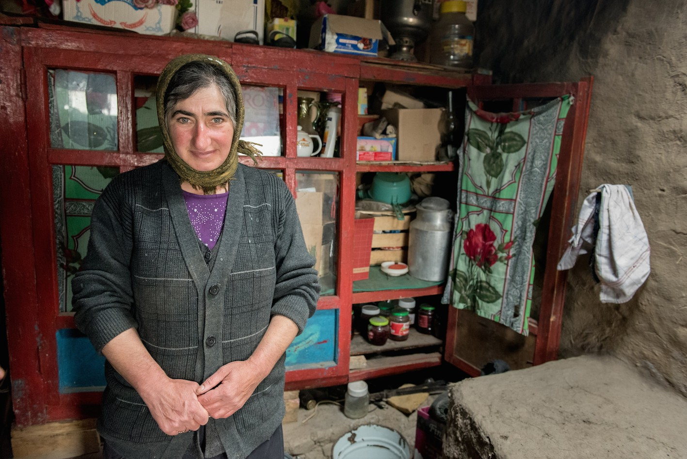 Melikova Balakhanam, 50 ans, une fille, femme au foyer