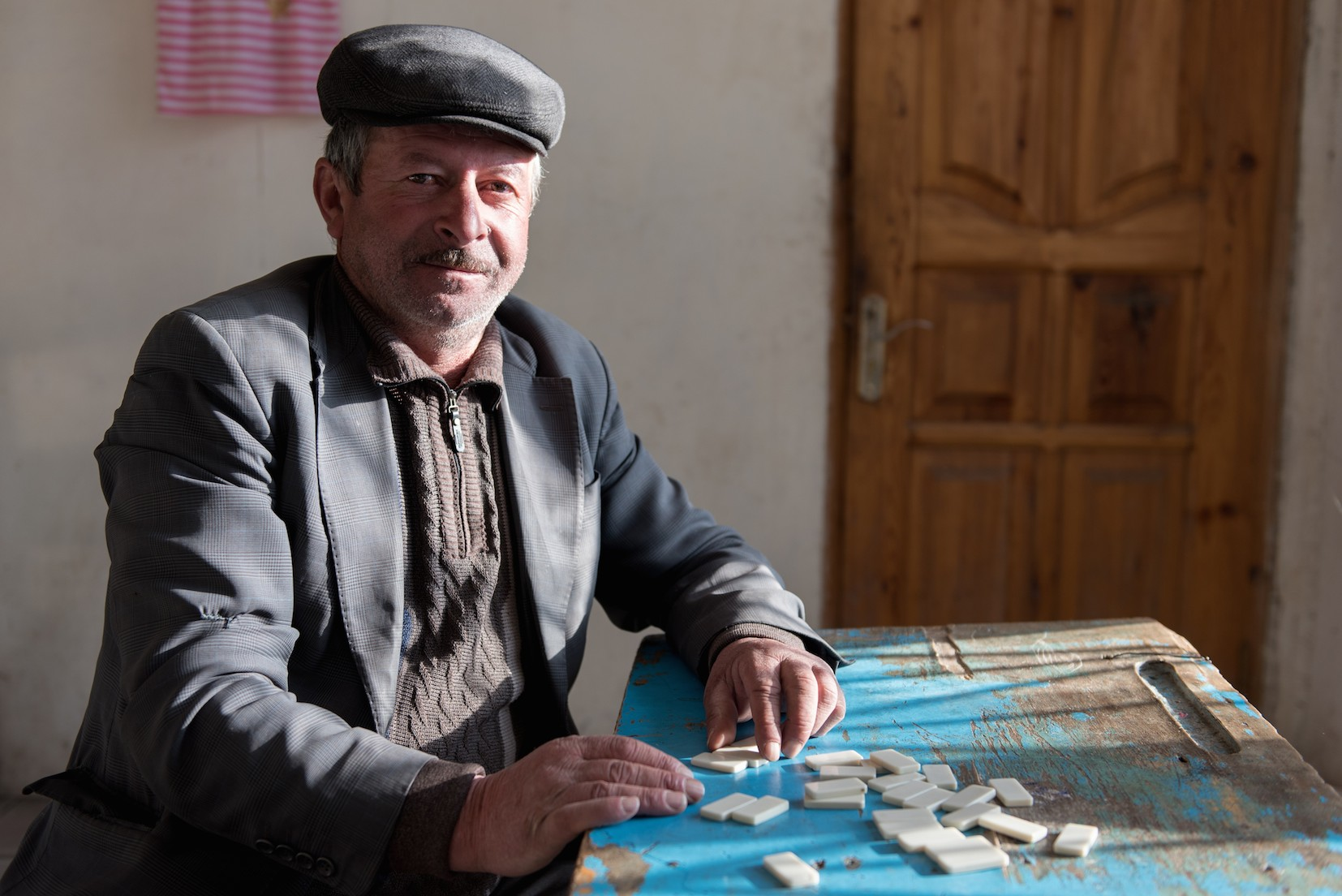 Mousaïev Vkiret, 52 ans, 6 enfants, propriétaire d'un magasin et ancien contremaître