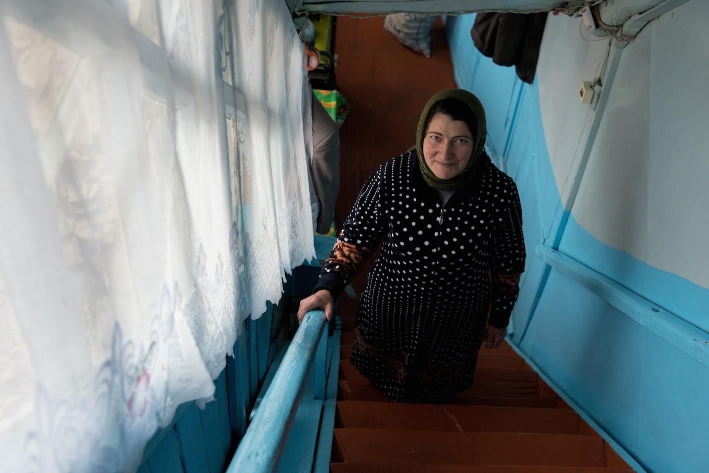 Chabanova Siousane, 45 ans, 3 enfants, femme au foyer