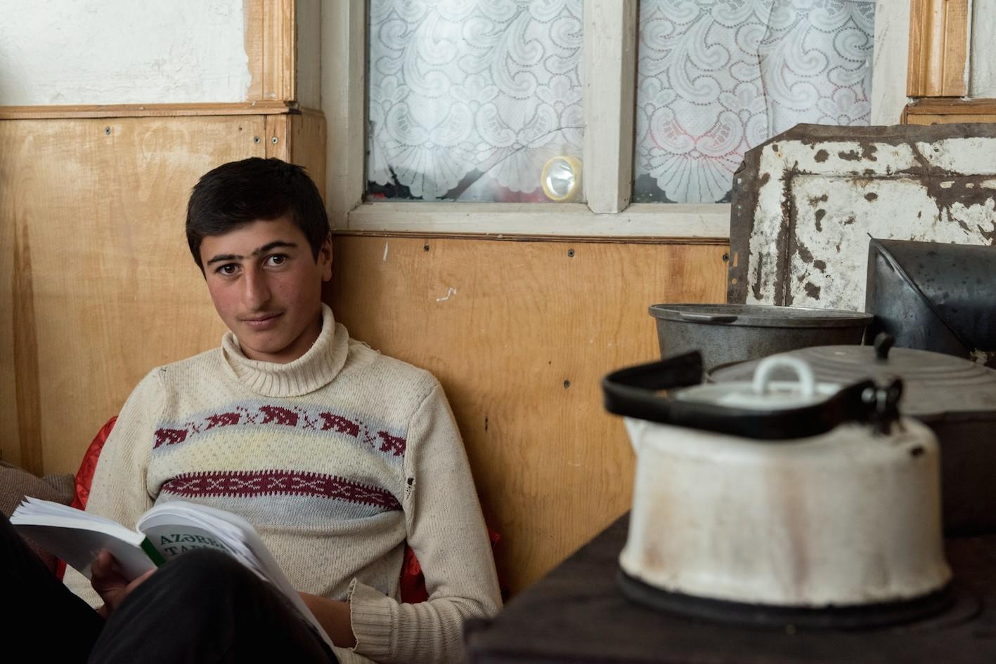 Soultanov Kismet, 16 ans, écolier