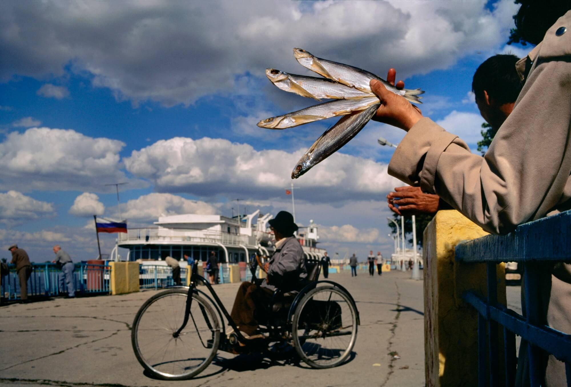 Russie, village près d'Astrakhan, 1997. - © Reza