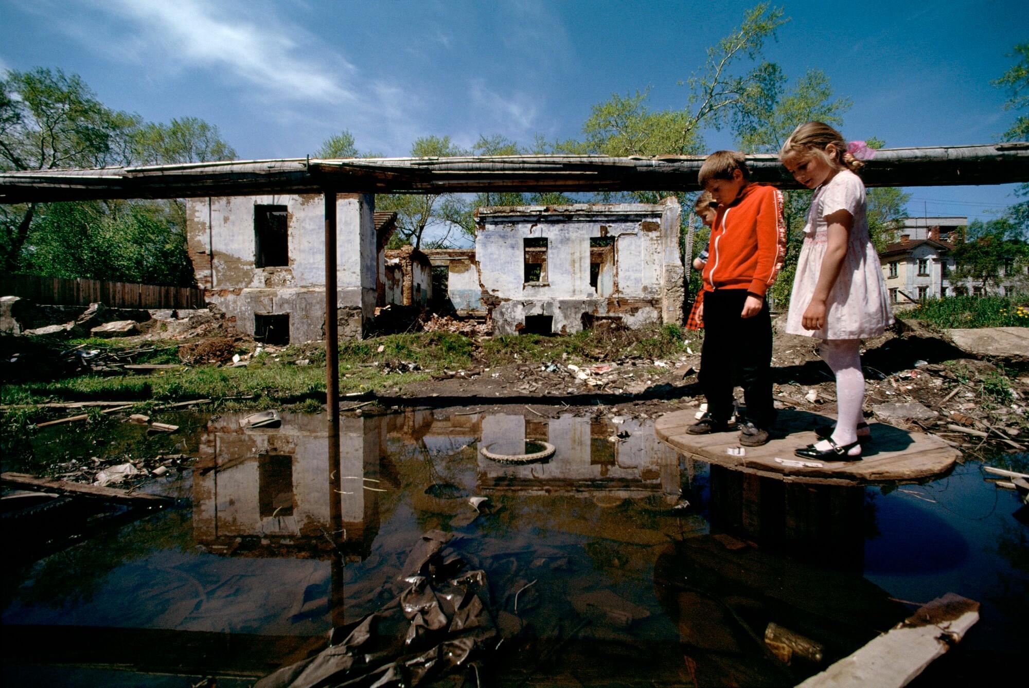 Fédération russe, Nikolayevsk, 1999. - © Reza