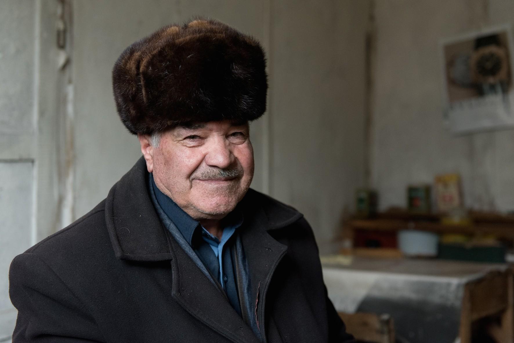 Moussaïev Roustamaga, 67 ans, 4 enfants, ancien berger