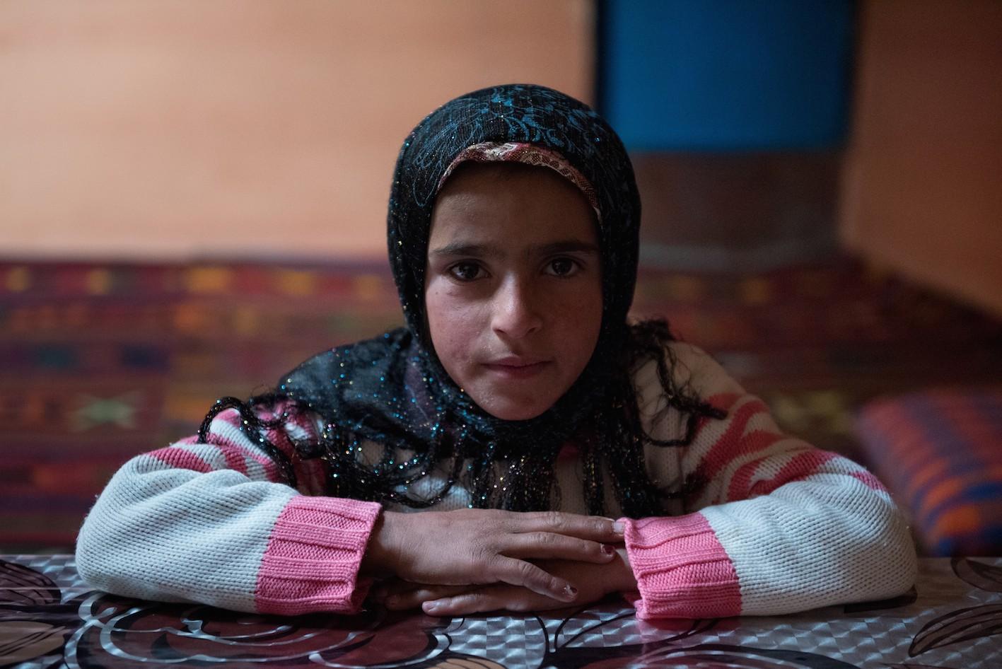 Lalaïeva Achtche, 9 ans, écolière