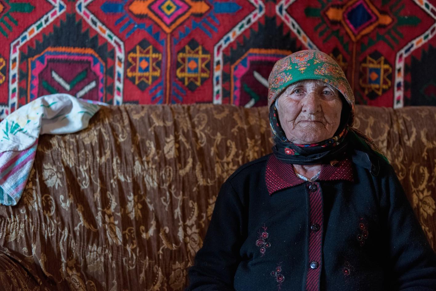 Ismaïlova Reberet, 90 ans, un fils, ancienne laitière
