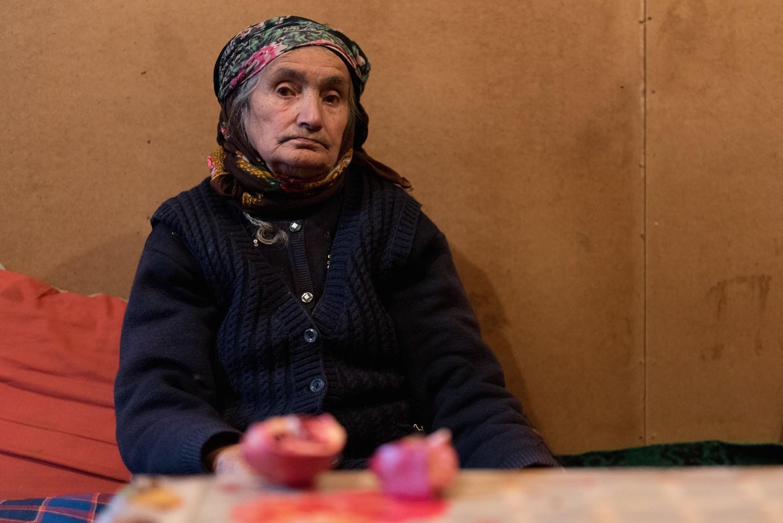 Oroudjeva Zoulkhimir, 99 ans, 10 enfants, ancienne laitière