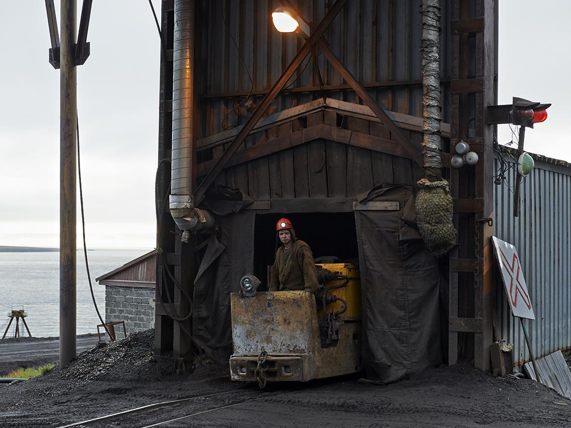 Igor, manutentionnaire dans la mine depuis trois ans.