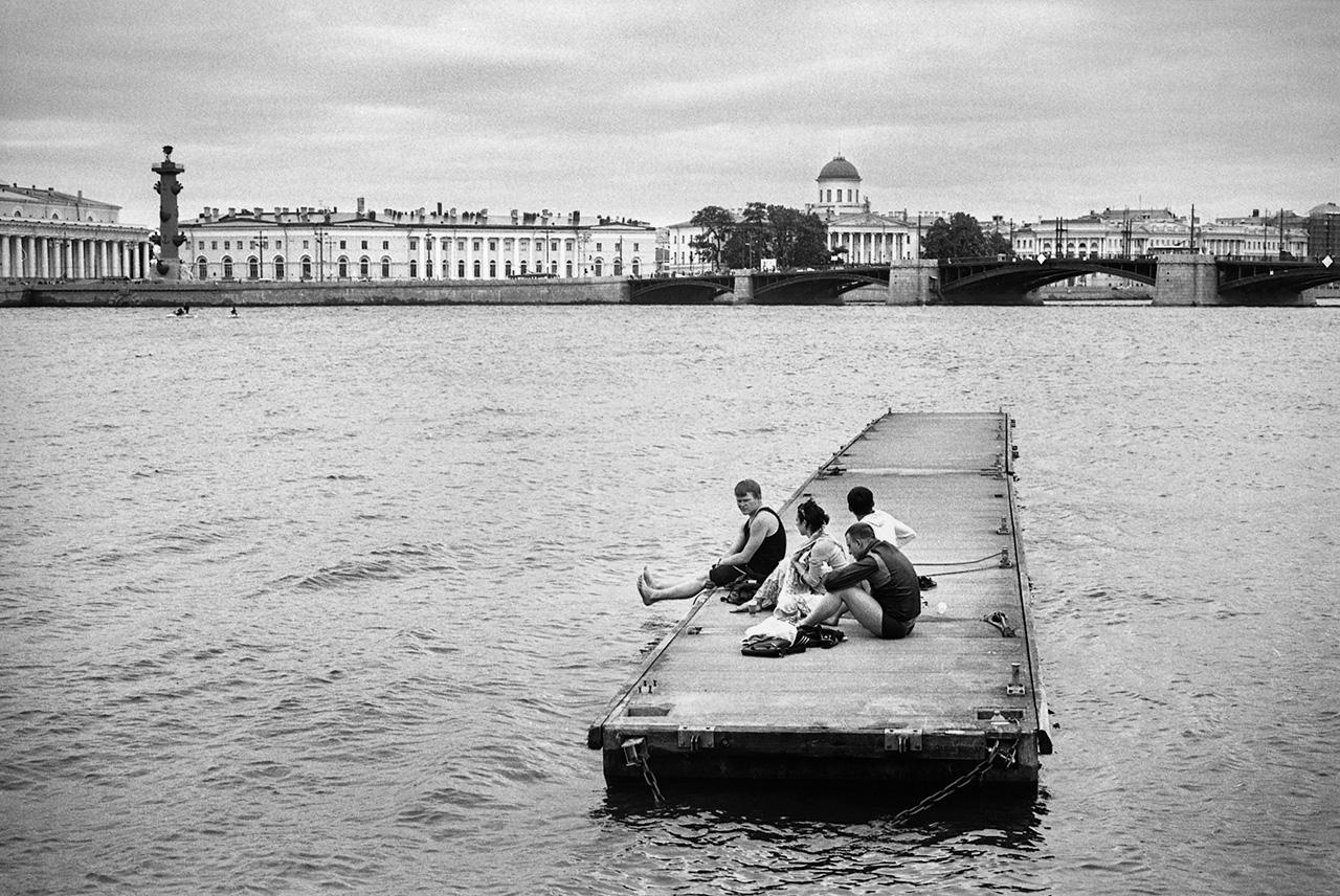 """""""Voyage immobile"""", Saint-Pétersbourg, 2014"""