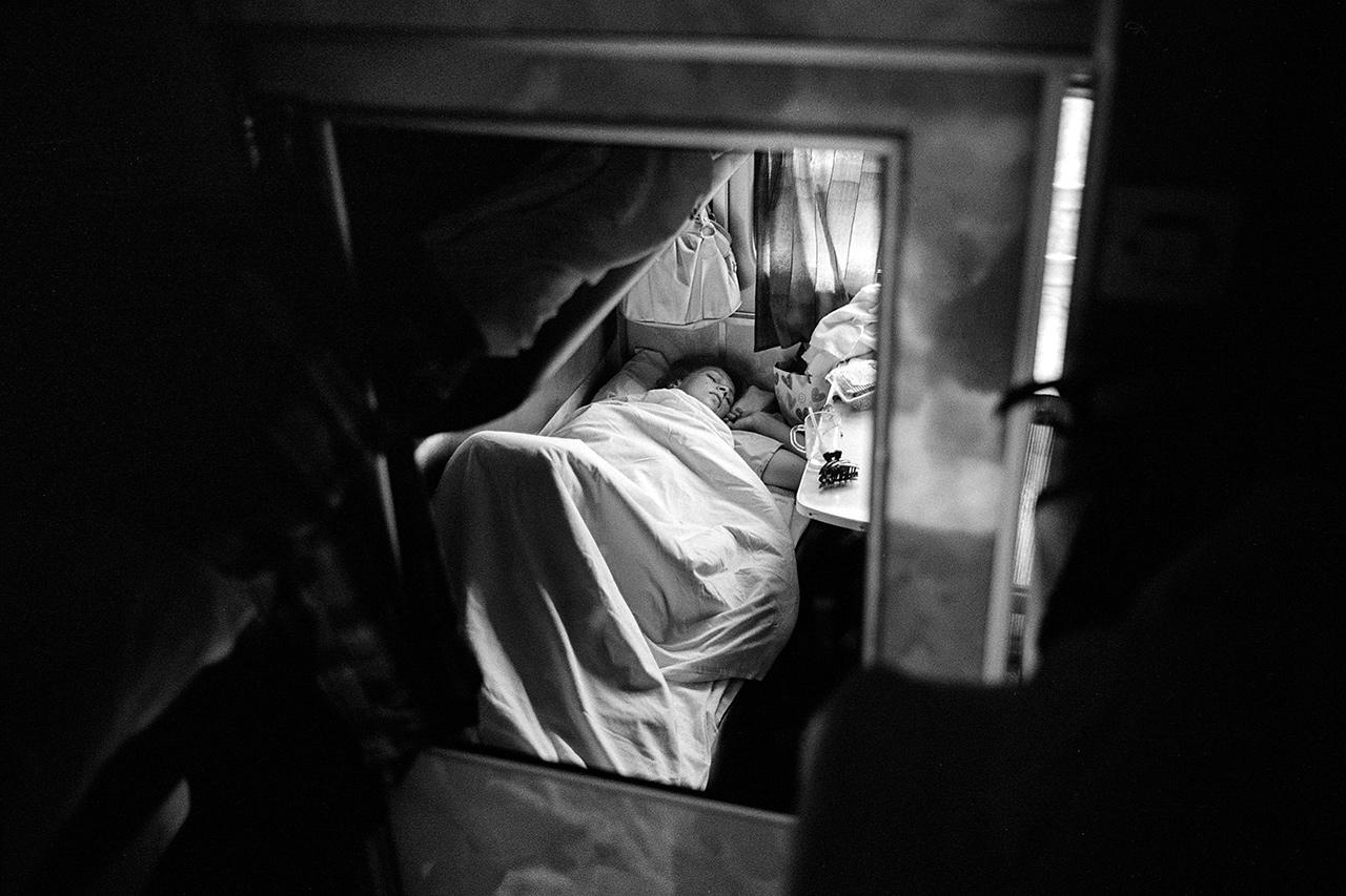 """""""Le chant du rail"""", vers Petrozavodsk, 2014"""