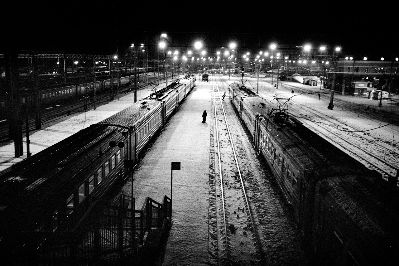 """""""Moscou, déjà 3 000 km - Vladivostok 6 000 encore..."""", Novossibirsk, 2014"""