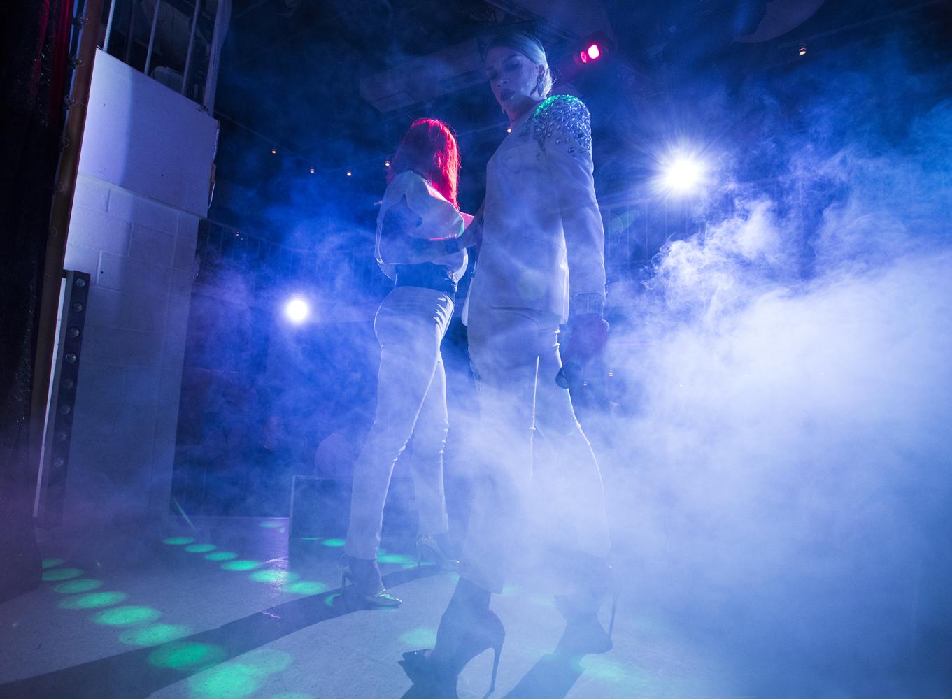 Miss Shamina et Roxy Hart font le show © Kseniya Yablonskaya