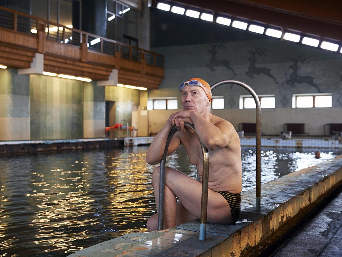 Mikhail est électricien au Tets, la centrale électrique de Barentsbourg.