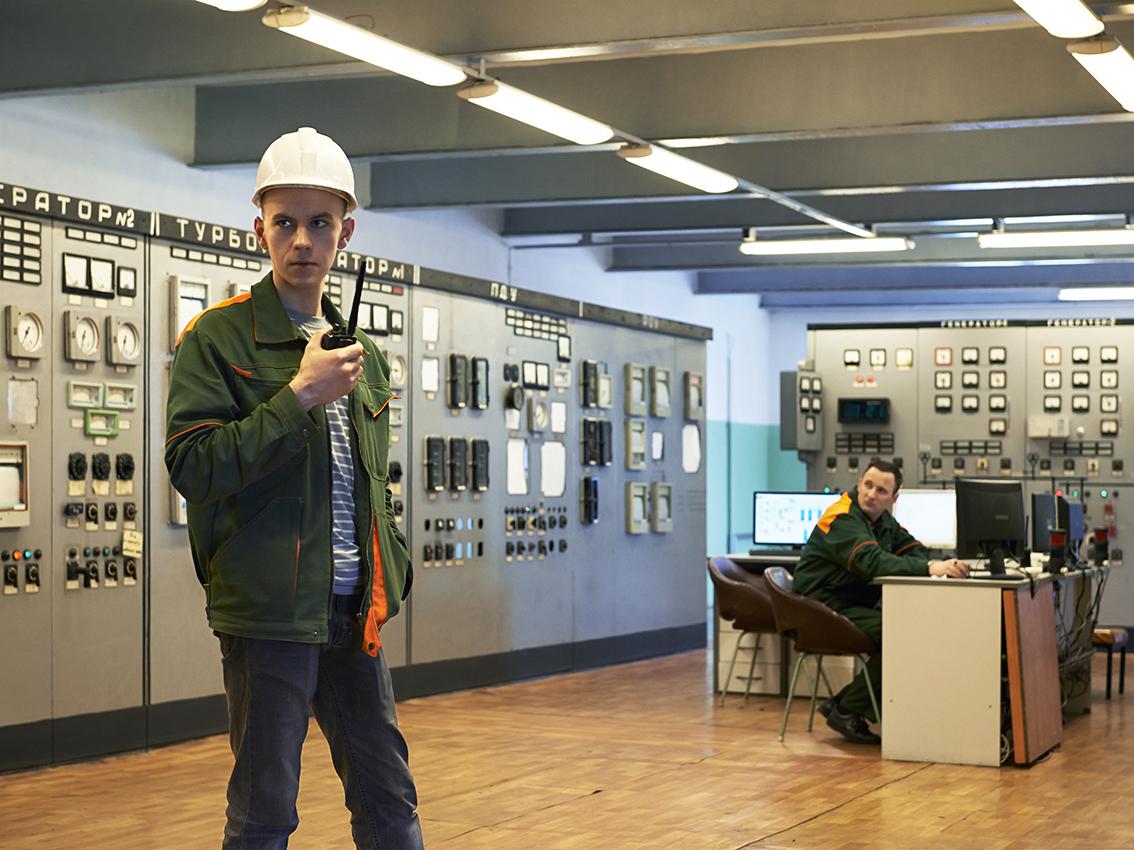 """Saveliy est responsable et ingénieur à la centrale électrique Teplo-Elektro-Tsentral (""""Tets"""")."""