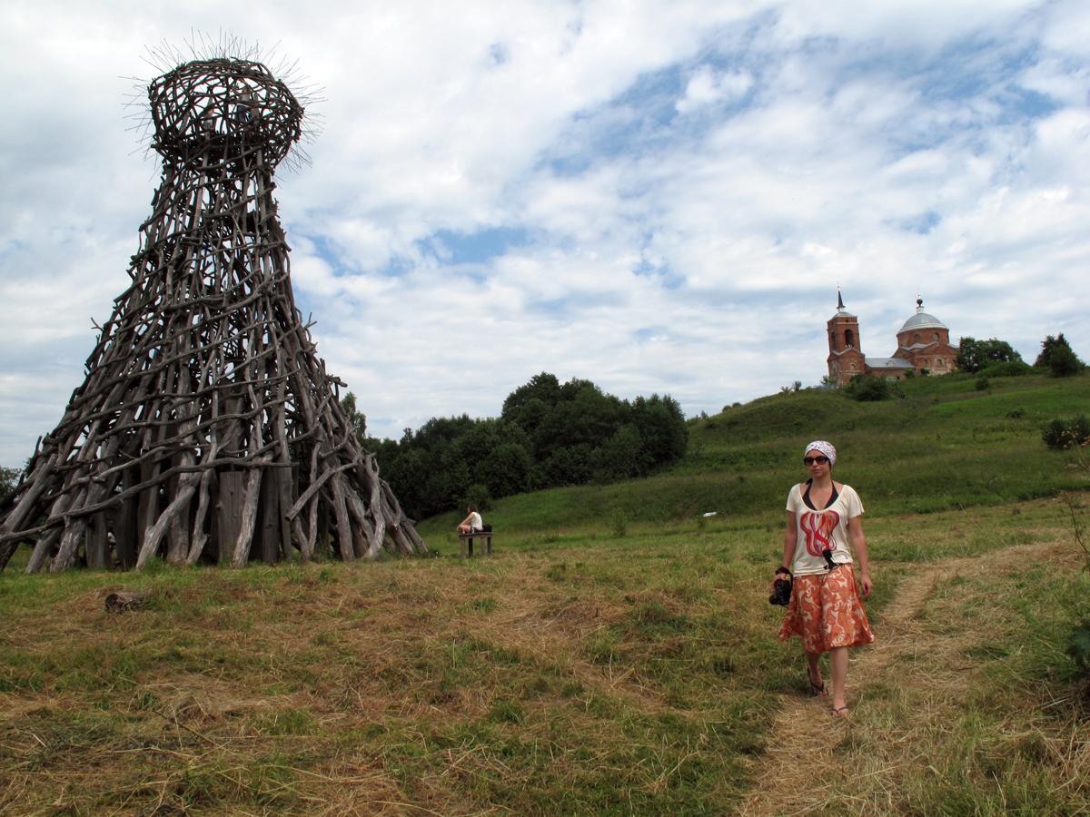 """""""Le Phare d'Ougra"""" (du nom de la rivière qui se trouve en contrebas), Nikolaï Polisski, 2004."""